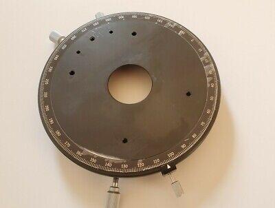 Olympus Bh Bhs Bhtu Bh-2 Circular Rotatable Stage For Polarizing Microscope