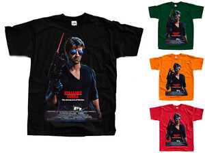 COBRA Sylvester Stallone, Movie poster ver.1 T-Shirt (Black, bottle green) S-5XL - Radymno, Polska - COBRA Sylvester Stallone, Movie poster ver.1 T-Shirt (Black, bottle green) S-5XL - Radymno, Polska