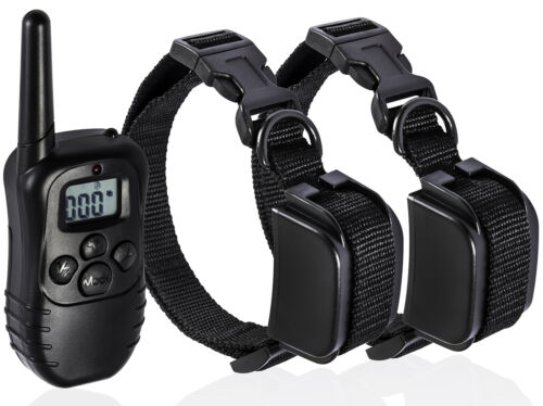 Изображение товара Pet Dog Training Collar Rechargeable Electric LCD 100LV Shock  (Two Collars)