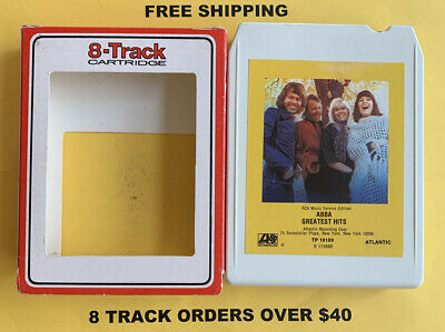 ABBA Greatest Hits 8 track tape tested W/ Sleeve