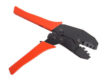 Ratcheting Crimping Plier Tool Ratchet Wire Crimper Insulated Bare Terminals