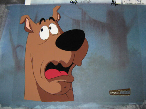 Original production cel  - Scooby Doo on Zombie Island (Cartoon Net)