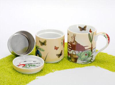Könitz Porzellan Kaffeebereiter Coffee for One Bunnys Garden - Slow Coffee