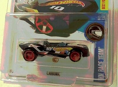 HOT WHEELS 2016 Q CASE SUPER TREASURE HUNT CARBONIC🏁
