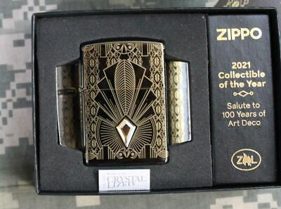 Zippo 2021 Collectible of the Year Art Deco Limited Edition Lighter 49500