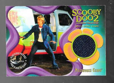 Scooby Doo Freddy Costume (Scooby-Doo 2: Monsters Unleashed pieceworks costume card PW-3 Freddie Prince)