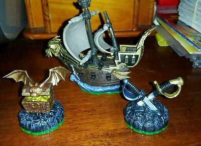 Pirate Seas Skylanders Spyros Adventure Figure Ps4 Xbox One Ps3 360 Wii 3Ds