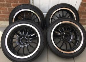 ACURA/HONDA RIMS AND TIRES GOOD CONDITION