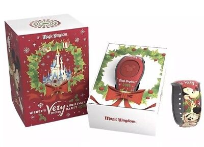 2018 Mickey's Very Merry Christmas Party Magic Band (Mickeys Very Merry Christmas Party Magic Band)