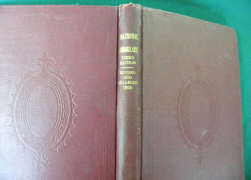 National Formulary of Unofficial Preparations 3rd ed.  1906