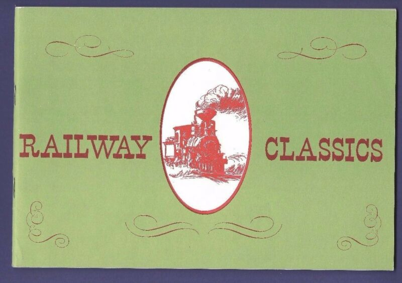 Railway Classics Christmas Cards and Prints - Vintage Photo Catalog