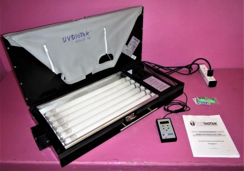 UVBioTek Mobile-Lite 600 Portable UV Phototherapy Psoriasis Light Therapy System