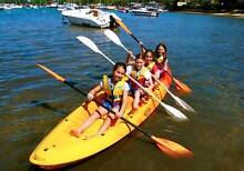 Double Quad plastic kayak and new paddles Bangalow Byron Area Preview