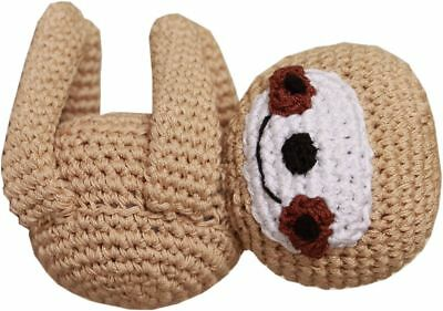 Dog Teeth Cleaning Cotton Crochet Squeaky Small Dog Toy - Fraggles Funny Baby