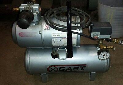 Gast 1hab-82t-m100x 16 Hp 115v Electric Air Compressor