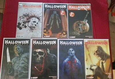 Lot of 7 Halloween Comics - Michael Myers, Nightdance, Laurie Strode, Horror