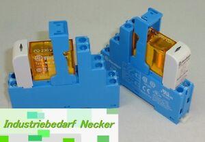 48.52.8.230.0060 - Finder Koppel Relais 230V AC 2 Wechsler 8A