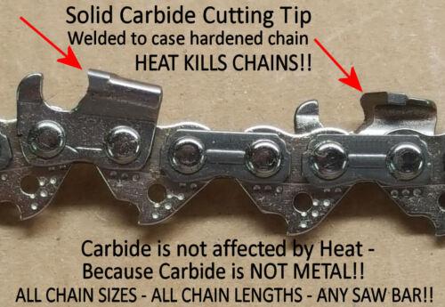 "SOLID CARBIDE Chainsaw Chain 2527-20 M12 FUEL Hatchet 6"" Pole Saw 49-16-2732"