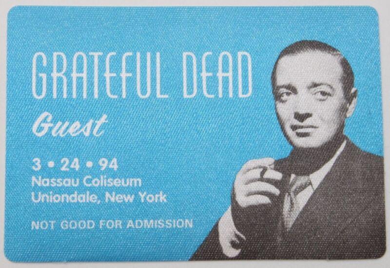 Grateful Dead Backstage Pass 3-24-1994 Nassau Coliseum New York