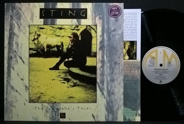 STING - TEN SUMMONER'S TALES  (LP)   VINYL LP NEU