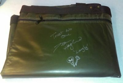 Extremely Rare! The X Files Screen Used Prop Militairy Body Bag Signed by Langly