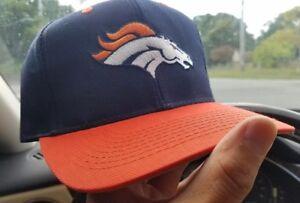 1990s VINTAGE DENVER BRONCOS SNAPBACK hat logo7 c005039de