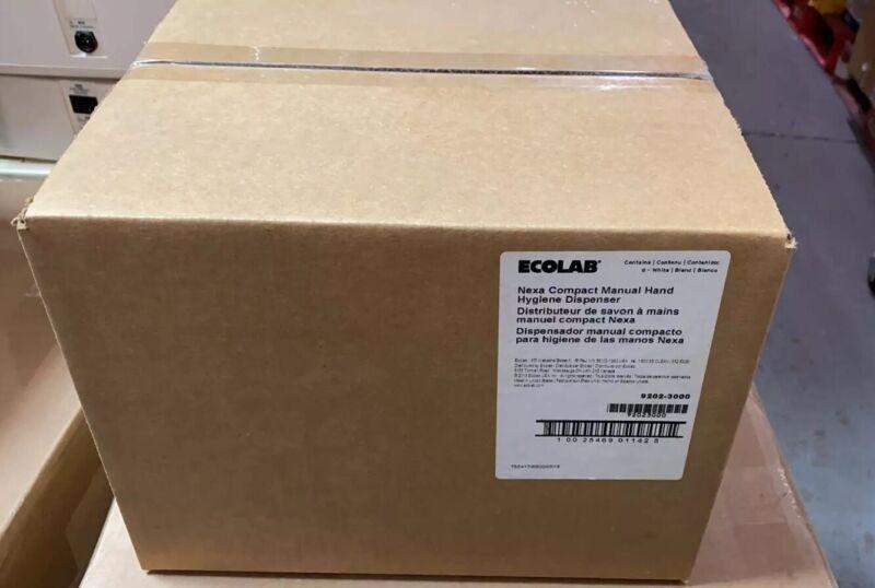 ECOLAB Nexa Classic Manual Hand Hygiene Dispenser -BOX Of 6 (9202-3000)