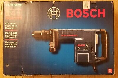 Bosch 11316evs 14 Amp Sds Max Demolition Hammer 14 Amp 1890 Bpm Misb