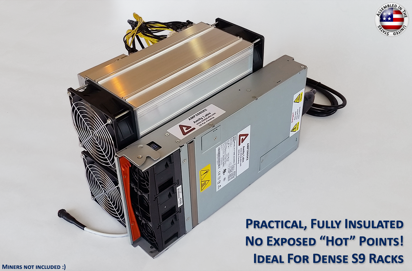 2880 Watt Mining Power Supply For Any Two (2x) Antminer / Avalons