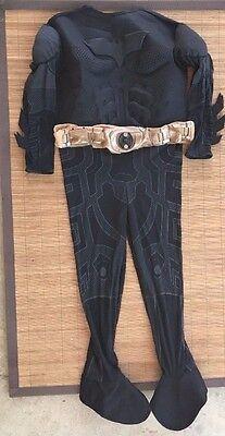 Rubies Deluxe Batman Costume Childs Dark Knight Belt Mask Full Complete 8 9 10 L