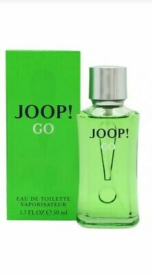 JOOP! GO EAU DE TOILETTE EDT 50ML SPRAY - MEN'S FOR HIM. NEW. FREE SHIPPING