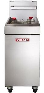 Vulcan LG300 35-40 lb. Commercial Gas Deep Fryer - Brand new - BEST price! Free shipping