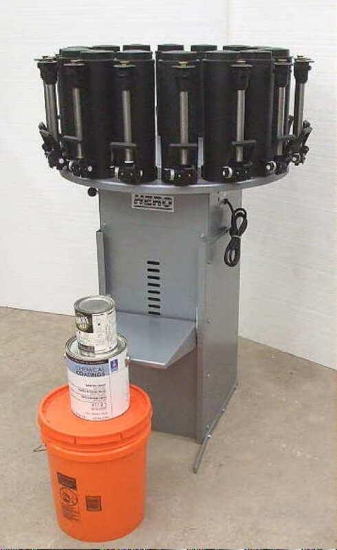 NEW HERO 2000 Model D23PR 14 Station Paint Colorant Dispenser - 1 Year Warranty