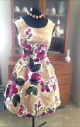 Vintage 50s Full Skirt Dress