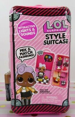 LOL Surprise Style Suitcase DJ with Interactive Sounds and Lights NEW