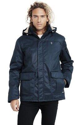 New W Tags Hemp Hoodlamb Mens Tech 420 Coat Xl Old Skool Blue Rare Color