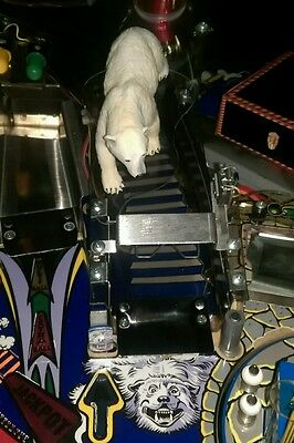 Addams Family Pinball Machine Polar Bear Ramp Mod