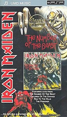 IRON MAIDEN-The Number of the Beast                  rare Playstation UMD