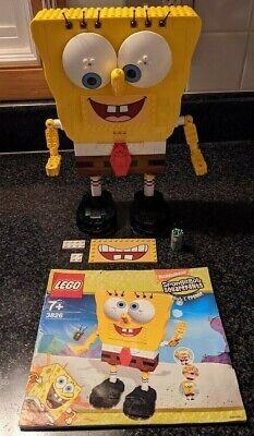 LEGO Build-A-Bob 3826 Spongebob Squarepants Manual Read Description for info