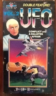 UFO TV series vol 2 VHS video vintage U.F.O. space Conflict & Dalotek Affair 70s for sale  Shipping to Canada