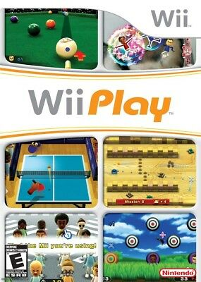 Wii Play (Game Only) Wii Game