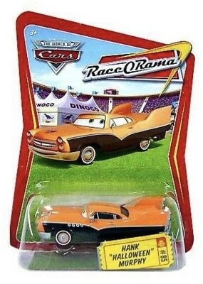 Pixar CARS Movie 1:55 Die Cast Car Series 4 Race-O-Rama Hank