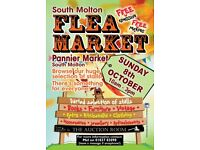 South Molton Flea Market - 70 stalls under one roof!