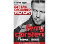 4x Ferry Corsten tickets for sale