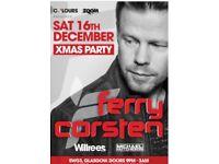 4x Ferry Corsten tickets for sale