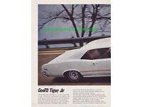 1966 Pontiac GTO TIGER STRIPES License Plate car Tag 66 Goat 389 ROYAL  Bobcat