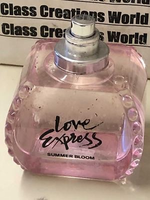 LOVE EXPRESS SUMMER BLOOM FOR WOMEN BY EXPRESS-3.4 OZ EDP SPRAY - ROUGH BOTTLE](Love Express)