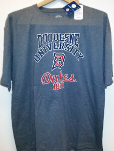 Duquesne-University-Dukes-College-T-Shirt-New-with-tags