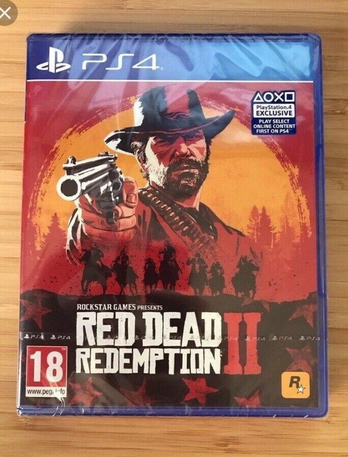 **SEALED** RED DEAD REDEMPTION 2 PS4 GAME BRAND NEW FOR PLAYSTATION 4  UK  STOCK PEGI | in Bradford, West Yorkshire | Gumtree