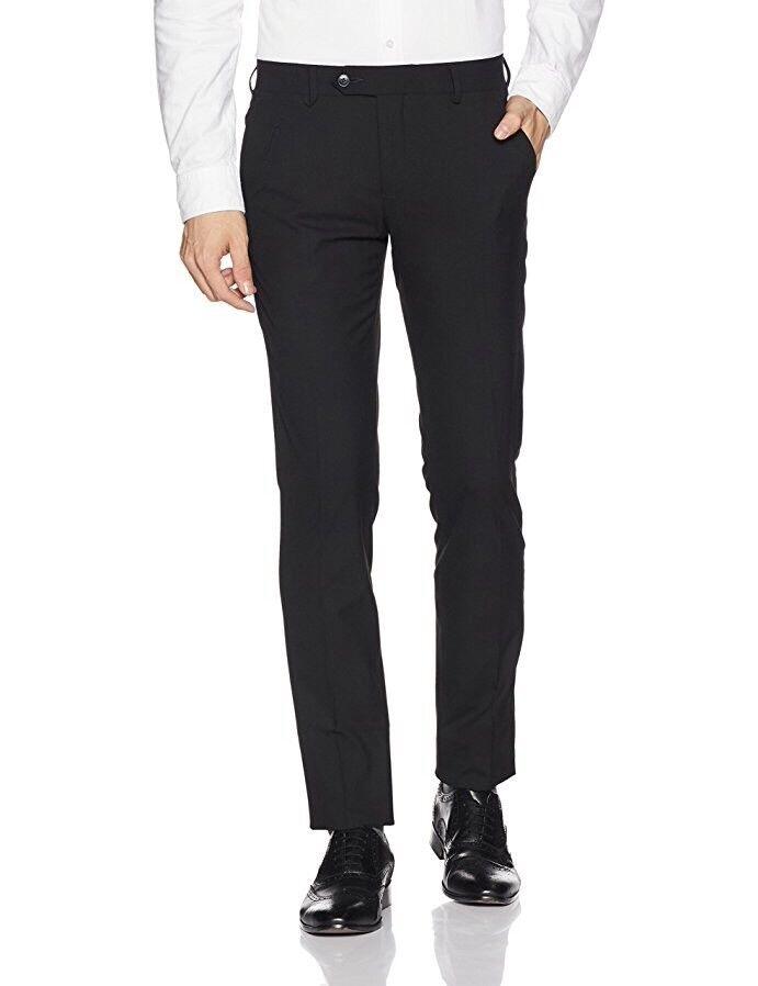 Men's Formal Trouser Black AEBBE